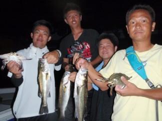 シーバス大漁