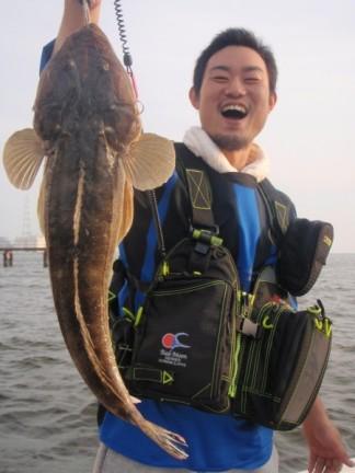 名古屋港マゴチ
