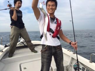 ボート太刀魚