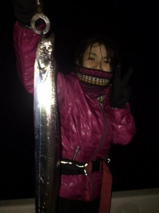 名古屋港太刀魚