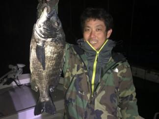 名古屋港チヌ
